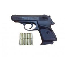 Стартовый пистолет Ekol Major, черный цвет, Турция + патроны 10 шт