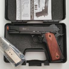 Стартовый пистолет KUZEY-911, черный цвет, Турция