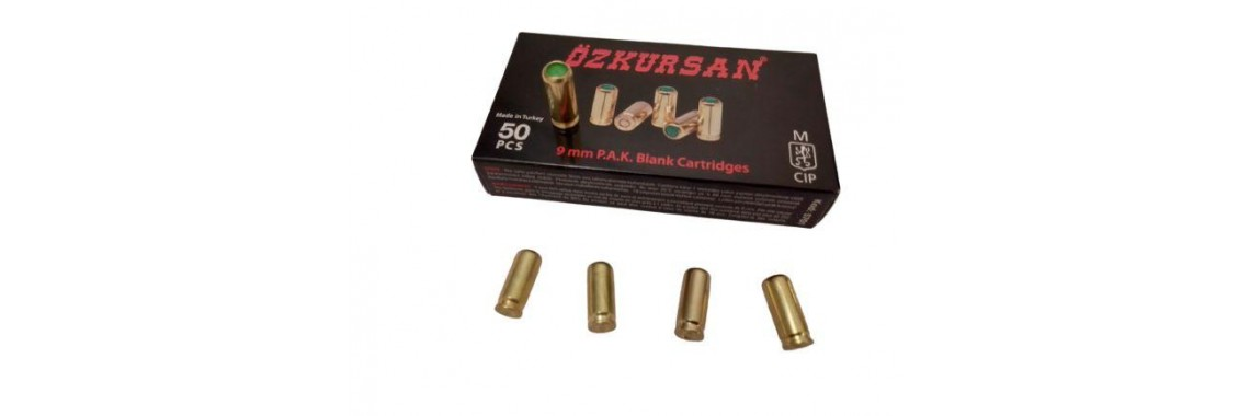 Холостые патроны Ozkursan 9mm original