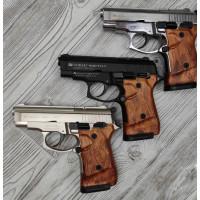 Стартовый пистолет Zoraki 914-T Export, коричневая ручка, Турция